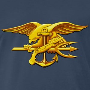 US Navy Seal Gold - Men's Premium T-Shirt