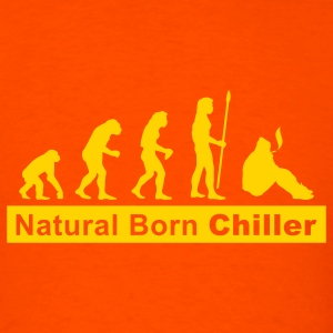 evolution_chiller2 T-Shirts - Men's T-Shirt