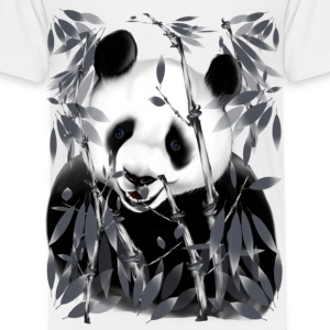 Panda - grey tone - Toddler Premium T-Shirt
