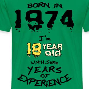 born in 1974 - Men's Premium T-Shirt