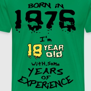 born in 1976 - Men's Premium T-Shirt