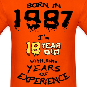 born in 1987 - Men's T-Shirt