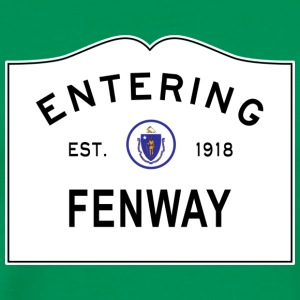 Entering Fenway - Men's Premium T-Shirt