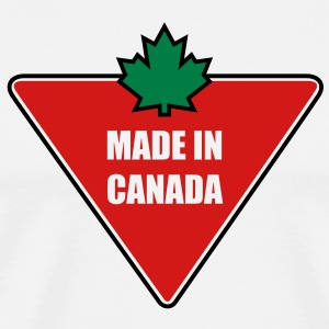 Made in Canada Tire T-Shirts - Men's Premium T-Shirt