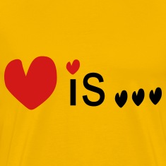 Love is... txt vector