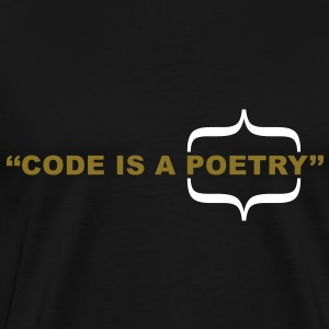 code_isa_poetry T-Shirts - Men's Premium T-Shirt