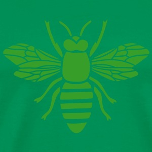 bee i love honey bumble bee honeycomb beekeeper wasp sting busy insect wings wildlife animal T-Shirts - Men's Premium T-Shirt