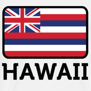 Flag Hawaii 2 (dd)++ T-Shirts - Men's Premium T-Shirt