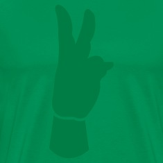 peace sign fingers T-Shirts
