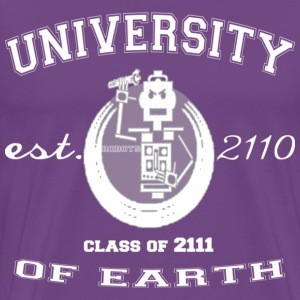 University Of Earth - Men's Premium T-Shirt