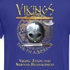 Vikings North America T-Shirt - Small Tagline Front/Logo Back - Men's Premium T-Shirt