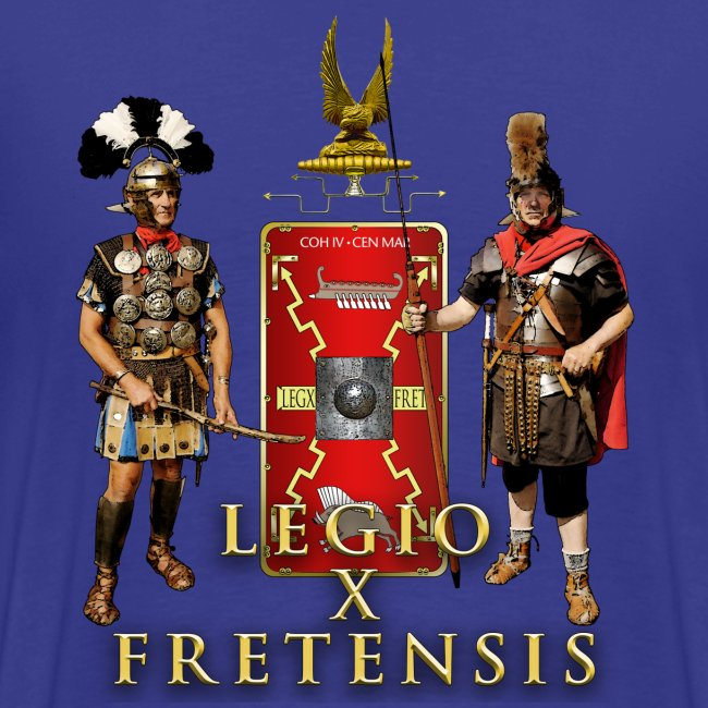 Legio X Fretensis T-Shirt - Placement: Left Chest & Back