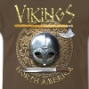 Vikings North America T-Shirt Logo Front/Tagline Back - Men's Premium T-Shirt