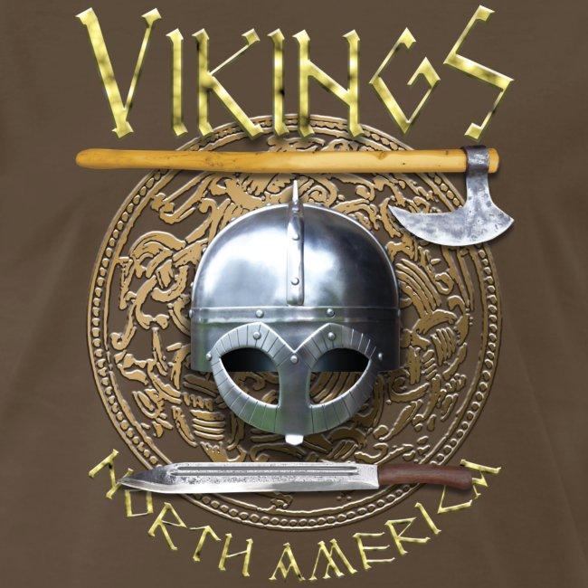 Vikings North America T-Shirt Logo Front/Tagline Back