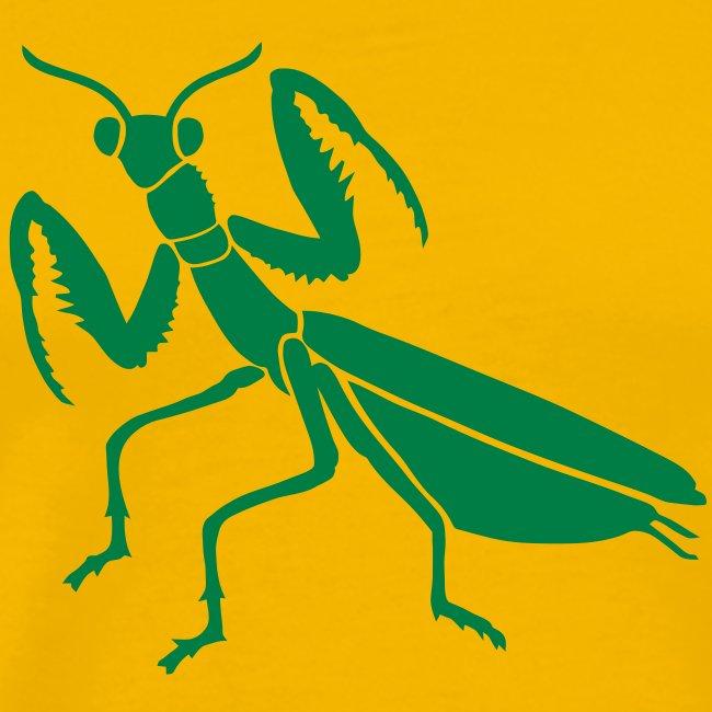 t-shirt praying mantis bug insect