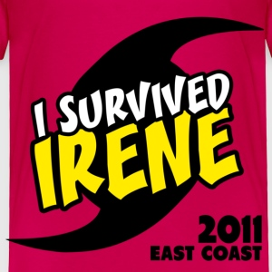 Survived Irene 2011 Toddler Shirts - Toddler Premium T-Shirt