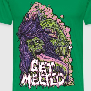 Get Melted Beer Zombie T-Shirts - Men's Premium T-Shirt
