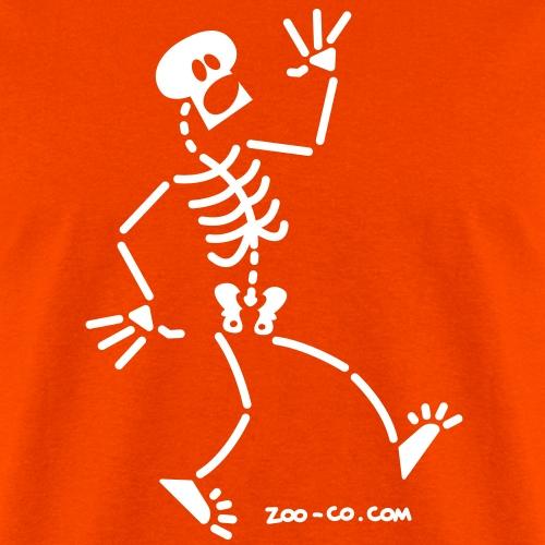 Frightened Skeleton
