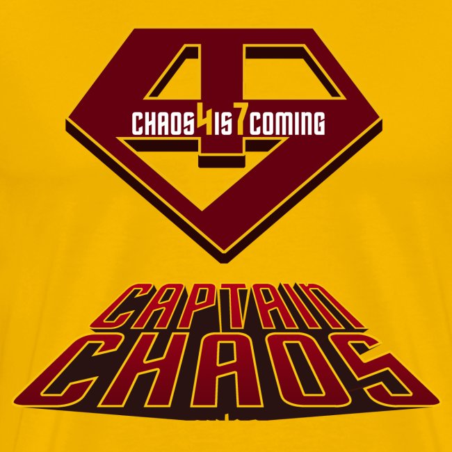 Piketoon Captain Chaos Shield Tee