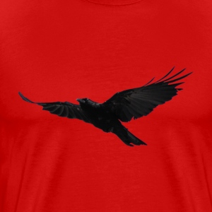 Flying Black Raven 2 - Men's Premium T-Shirt