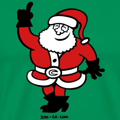 Santa Claus Celebrating