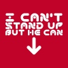 i cant stand up T-Shirts - Men's Premium T-Shirt