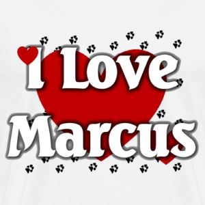 I love marcus - Men's Premium T-Shirt