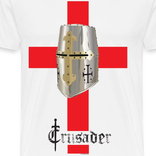 Crusader Red on Light Heavyweight T
