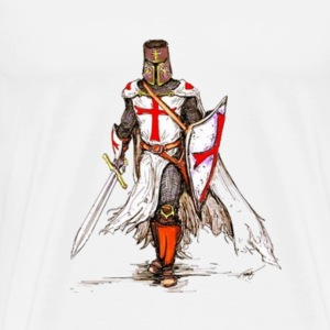 Templar Knight - Men's Premium T-Shirt