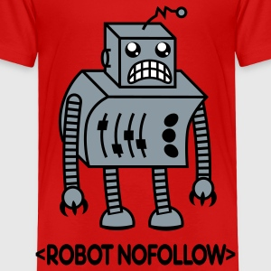 Robot Nofollow Shirt Toddler Shirts - Toddler Premium T-Shirt