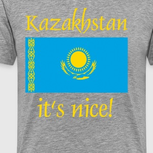 kazakhstan it's nice - Men's Premium T-Shirt