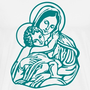 Mary and Jesus T-Shirts - Men's Premium T-Shirt