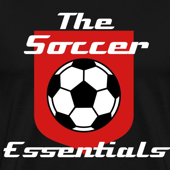 The Soccer Essentials Soccer T-Shirt Black and Red