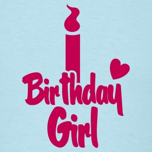 birthday girl candle T-Shirts - Men's T-Shirt