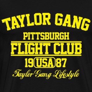 Taylor Gang Flight Club - Men's Premium T-Shirt