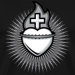 Sacred Heart - Men's - Men's Premium T-Shirt