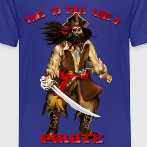 Time To Talk Like A Pirate - Kids' Premium T-Shirt