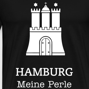 Hamburg / Crest of Hamburg Germany T-Shirts - Men's Premium T-Shirt