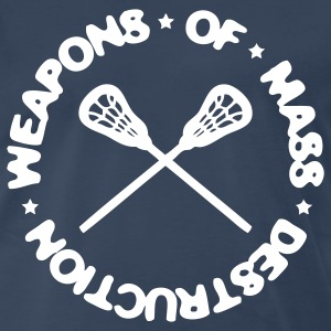 Weapons Of Mass Destruction (lacrosse) T-Shirts - Men's Premium T-Shirt