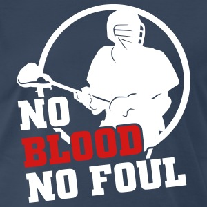 No Blood No Foul (lacrosse) T-Shirts - Men's Premium T-Shirt