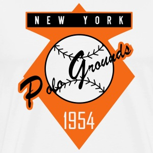 Polo Grounds 1954 (Heavy Weight) - Men's Premium T-Shirt