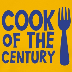 FORK cook of the century T-Shirts - Men's Premium T-Shirt
