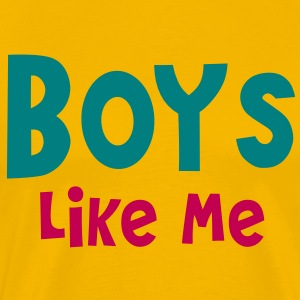 Boys like me T-Shirts - Men's Premium T-Shirt