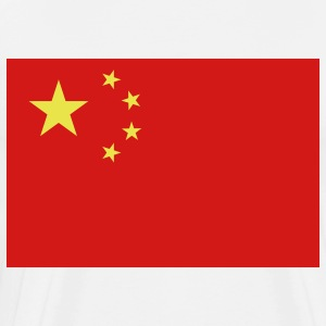 Flag China (2c)++ T-Shirts - Men's Premium T-Shirt