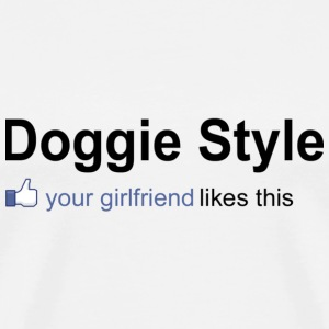 doggy style - Men's Premium T-Shirt