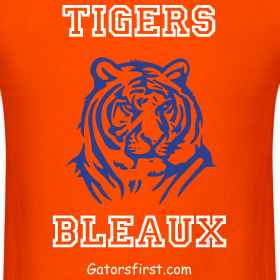 Design ~ Tigers Bleaux Tee