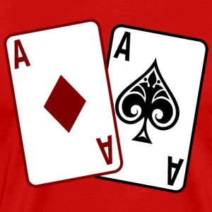 Poker Cards T-Shirts - Men's Premium T-Shirt