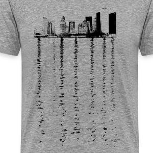 New York City Skyline #3 - Men's Premium T-Shirt