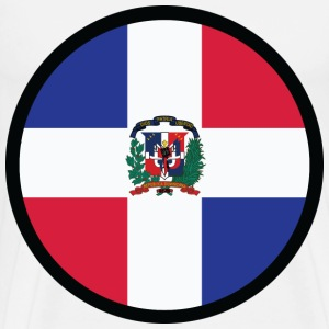 Circle Dominican Republic (dd)++ T-Shirts - Men's Premium T-Shirt