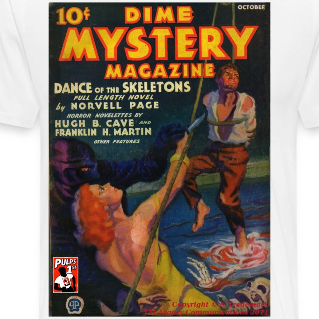 Dime Mystery Oct 1933 3/4XL